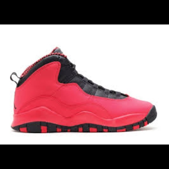 fc60b3ce6a096c Jordan Shoes - Air Jordan 10s Retro Infrared Pink   Black (RARE)